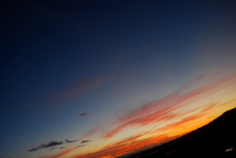 overberg sunset