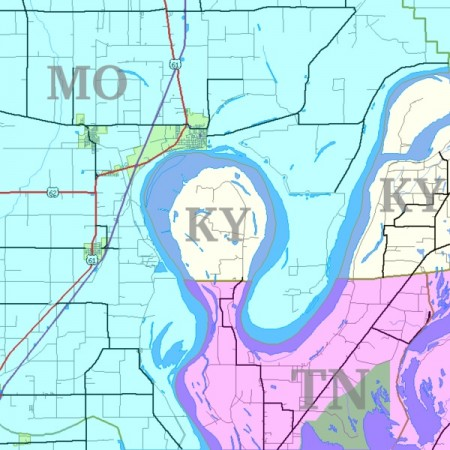 kentucky bend, from Strange Maps