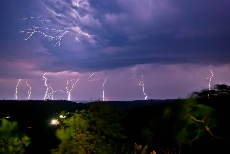 lightning in ingwavuma, by adrian bischoff